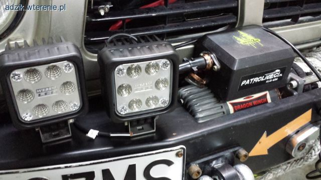 Test lamp led Off Road 4x4 | wTerenie.pl