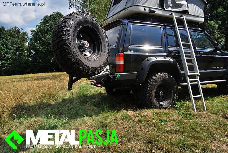 Bagażnik I Zderzak W Wyprawowym Jeep Cherokee Xj Off Road